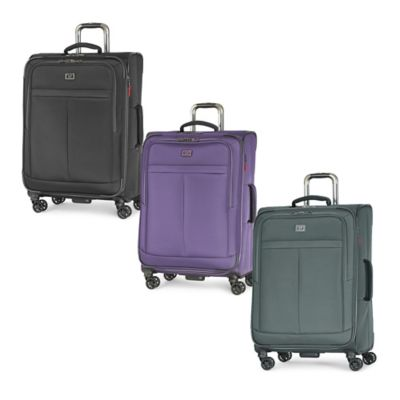 Latitude 40°N™ Freehold 25-Inch 8-Wheel Expandable Spinner Suitcase in Black