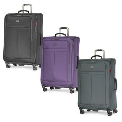 Latitude 40°N™ Freehold 29-Inch 8-Wheel Expandable Spinner Suitcase in Black