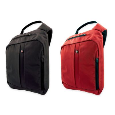 Victorinox® Single-Strap Shoulder Pack with RFID Protection in Red