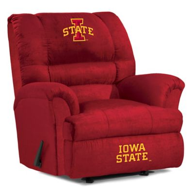 Iowa State University Big Daddy Microfiber Recliner