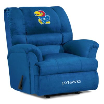 Kansas University Big Daddy Microfiber Recliner
