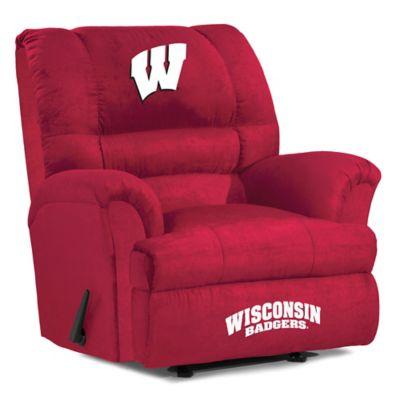 University of Wisconsin Big Daddy Microfiber Recliner