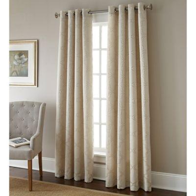 Austin Horn Classics 84-Inch Gateway Window Curtain Panel in Pearl
