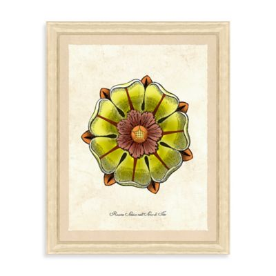 Yellow Rosettes Framed Giclée Print Wall Art II