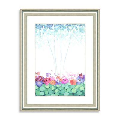 Watercolor Bouquet Framed Giclée Print Wall Art II