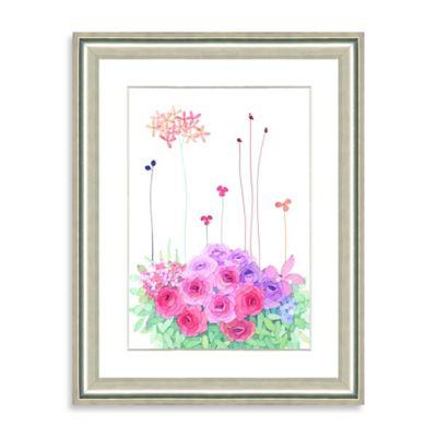 Watercolor Bouquet Framed Giclée Print Wall Art III
