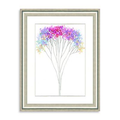 Watercolor Bouquet Framed Giclée Print Wall Art IV