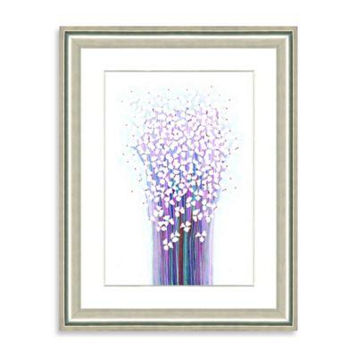 Watercolor Bouquet Framed Giclée Print Wall Art VI