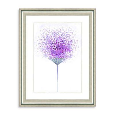 Watercolor Bouquet Framed Giclée Print Wall Art VII