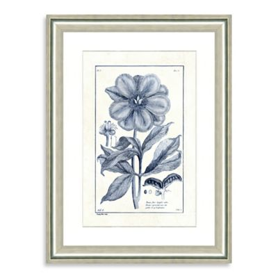 Blue Botanicals I Framed Wall Art