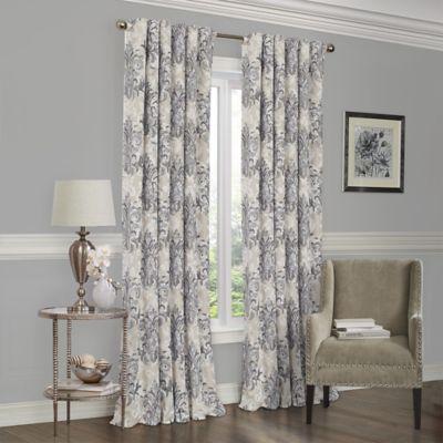 SolarShield Abilene 84-Inch Room-Darkening Window Curtain Panel in Grey