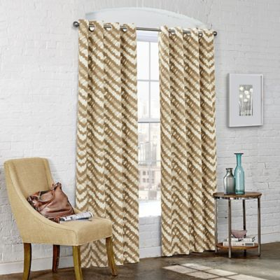 SolarShield Kuniko 63-Inch Grommet Top Room-Darkening Window Curtain Panel in Grey