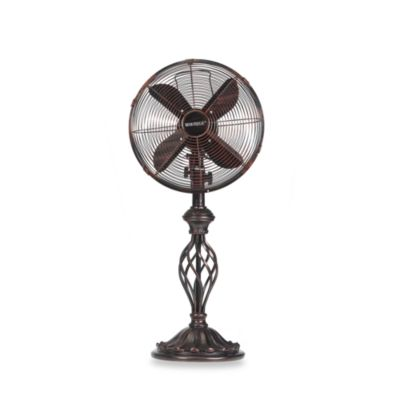 """Deco Breeze® Rustica 12"""" Table Fan"""