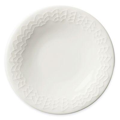 Iittala Sarjaton Salad Plate in Letti White