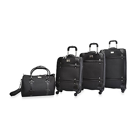 Buy Adrienne Vittadini Metro 2 Piece Luggage Set In Taupe