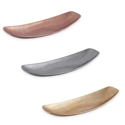 Simplydesignz Kanji 16-Inch Tray in Copper