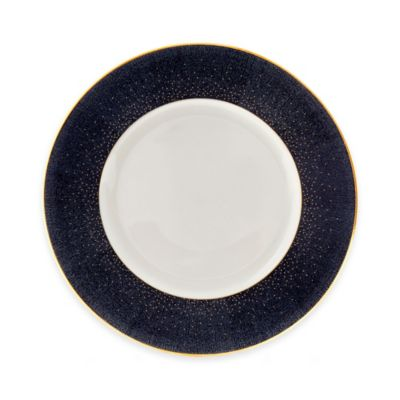 Monique Lhuillier Waterford® Stardust Night Accent Plate