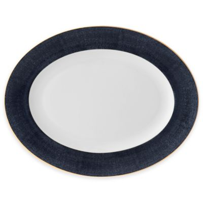 Monique Lhuillier Waterford® Stardust Night Oval Platter