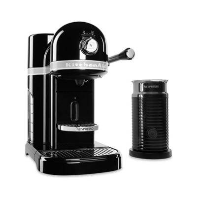Nespresso® by Kitchenaid® with Milk Frother in Candy Apple Red