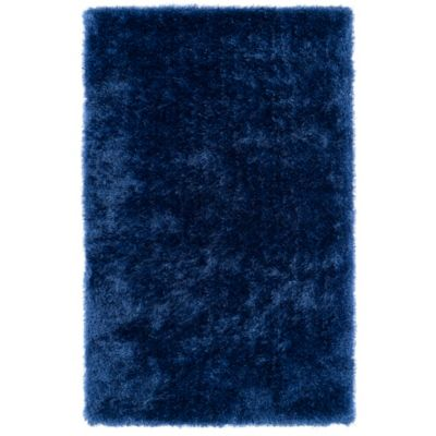 Kaleen Posh 2-Foot x 3-Foot Shag Accent Rug in Grey