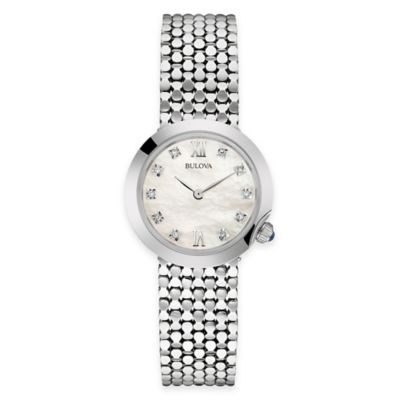 Bulova Maiden Lane Ladies' Bracelet Watch in Stainless Steel