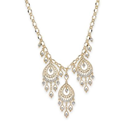 1928 Jewelry Statement Necklace