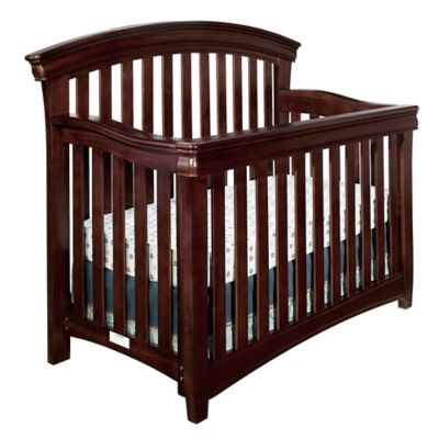 Westwood Design Stratton 4-in-1 Convertible Crib in Chocolate Mist