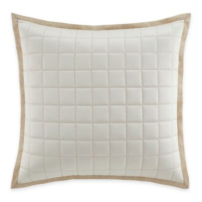 Manor Hill® Verona European Pillow Sham in Natural