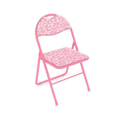 Hello Kitty® Collage Folding Chair in Pink (Set of 2)