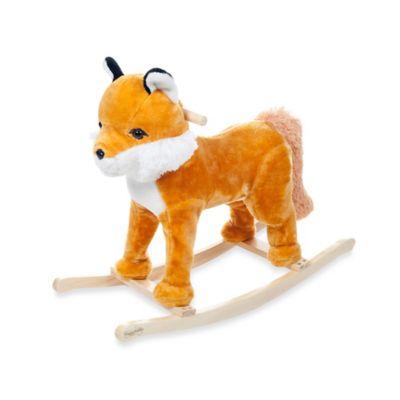 Happy Trails Rocking Felix the Fox