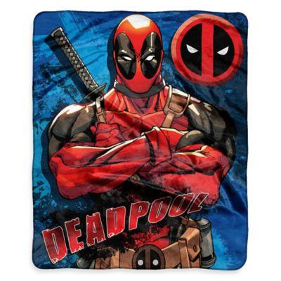 Marvel® Comics Deadpool Raschel Throw