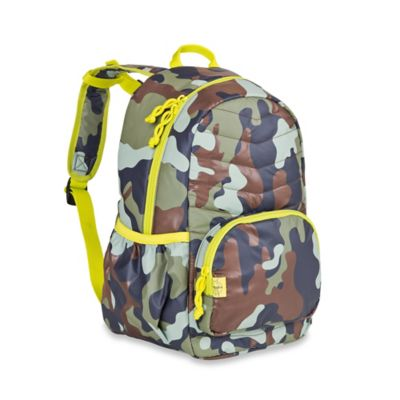 Lassig 4Kids Mini Quilted Backpack in Camouflage