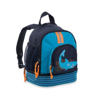 Lassig 4Kids Shark Ocean Mini Backpack in Navy