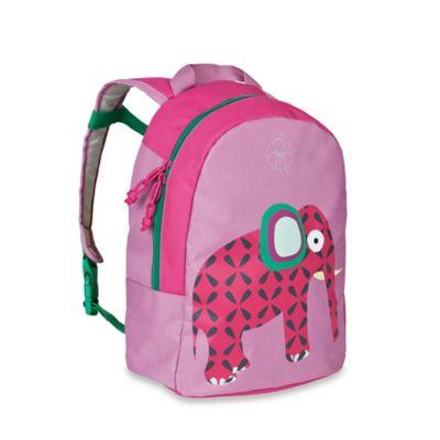 Lassig 4Kids Wildlife Elephant Mini Backpack in Pink