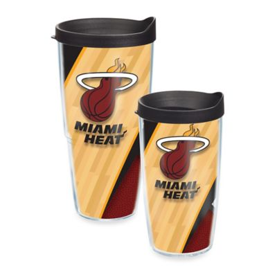 Miami Heat Tumbler with Lid