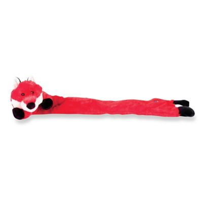 Charming Pet® Longidudes™ Fox Dog Toy in Red/White