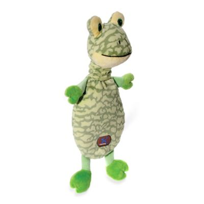 Charming Pet® Thera-Buddy™ Frog Dog Toy in Green