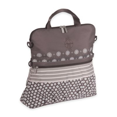 Lassig Casual Buggy Diaper Bag in Slate Multimix
