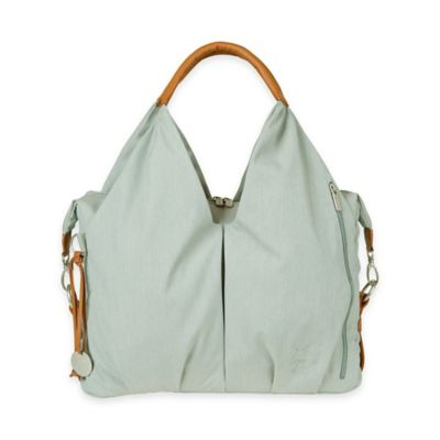 Lassig Green Label Neckline Diaper Bag in Sky