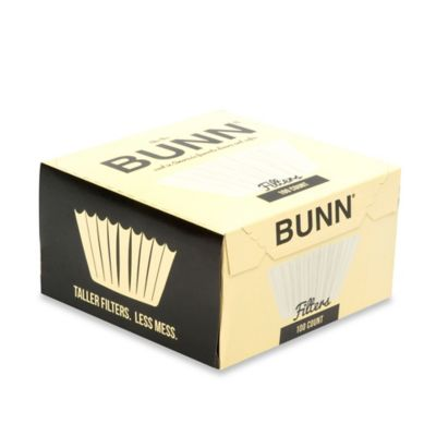 Bunn® 100-Count Coffee and Tea Filters