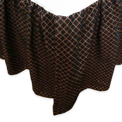 Austin Horn Classics Ashley Queen Bed Skirt in Black