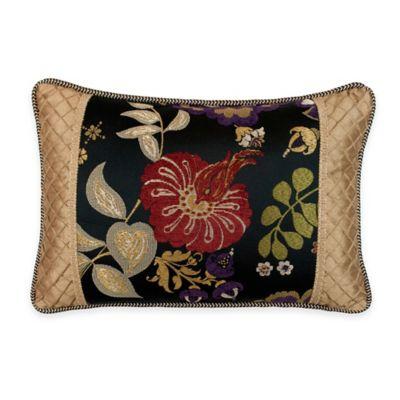 Austin Horn Classics Escapade Boudoir Throw Pillow in Black