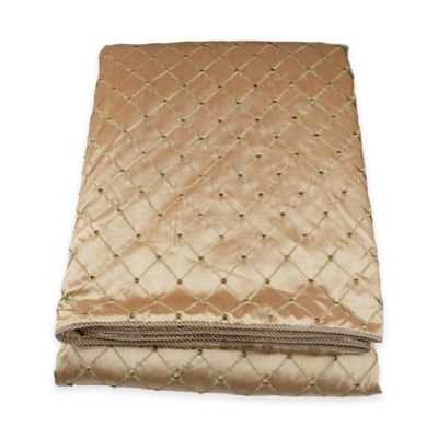 Austin Horn Classics Escapade King Coverlet in Gold