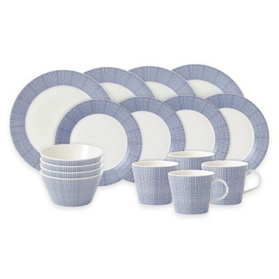Royal Doulton® Pacific 16-Piece Dinnerware Set