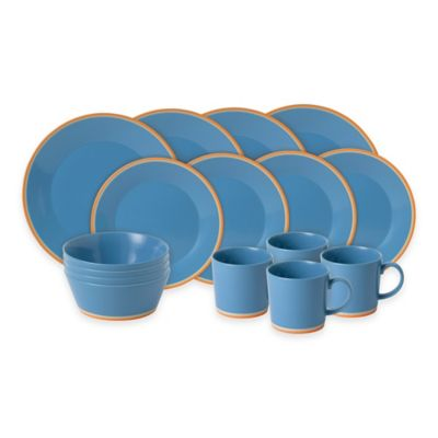 Royal Doulton 16-Piece Blue Dinnerware Set
