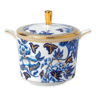 Wedgwood® Hibiscus Covered Sugar Bowl