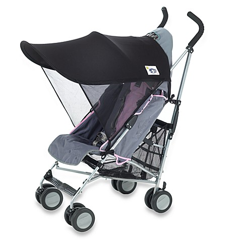 Protect-a-Bub™ Black UPF 50+ Compact Stroller Sunshade