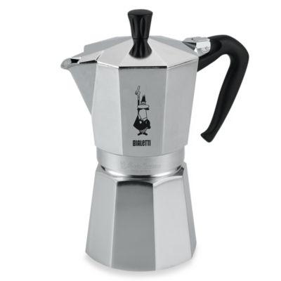 Bialetti® Moka Express 6801 9-Cup Espresso Machine