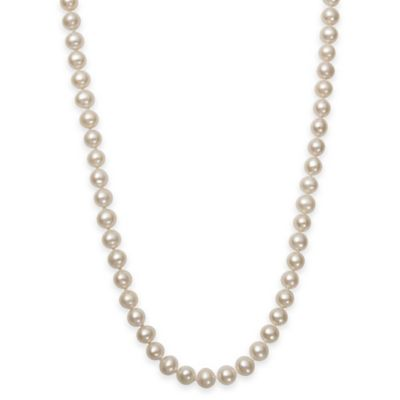 6-6.5mm Freshwater Cultured Pearl 16-Inch Strand Necklace