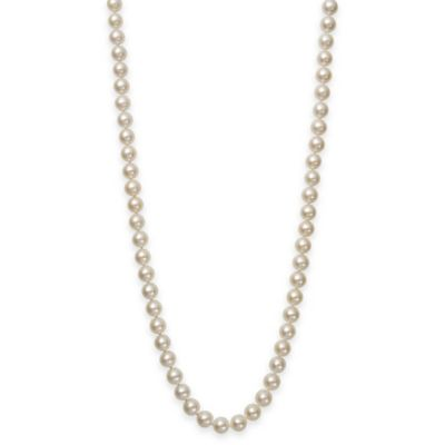 7.5-8mm Freshwater Cultured Pearl 20-Inch Strand Necklace